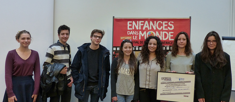 the jury of 190 young people chose Alexander Nanau's documentary.