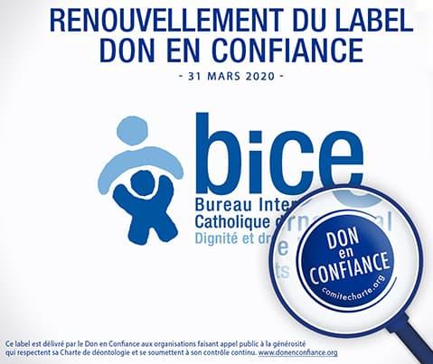 BICE - Don en confiance
