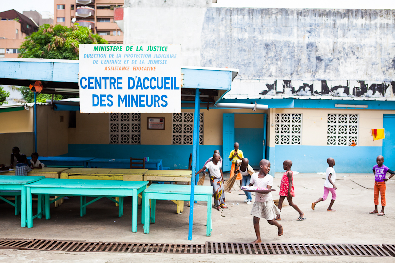 The Rescue Center In Abidjan A Place Of Reconstruction For