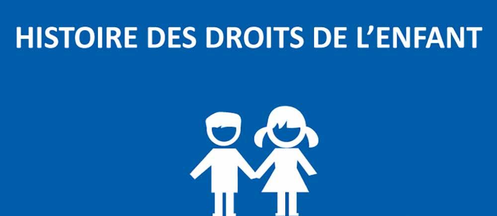 Histoire des droits de l'enfant