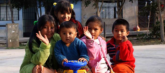 Enfants du centre CEDAPP au Pérou