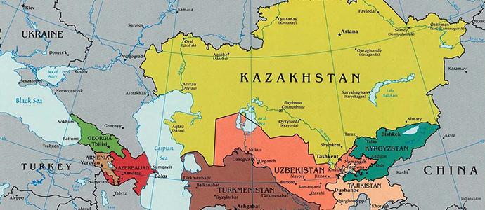 Kazakhstan-asie-centrale-map