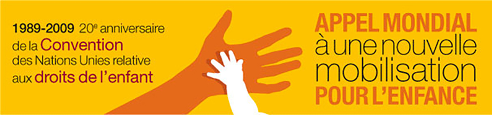 Appel mondial à une nouvelle mobilisation pour l'Enfance