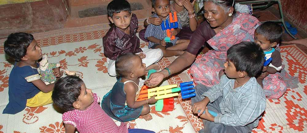 Accueil de la petite enfance en Inde