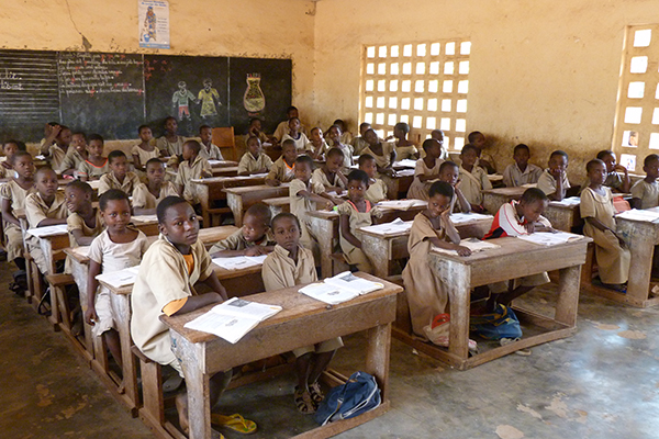 salle de classe au mali