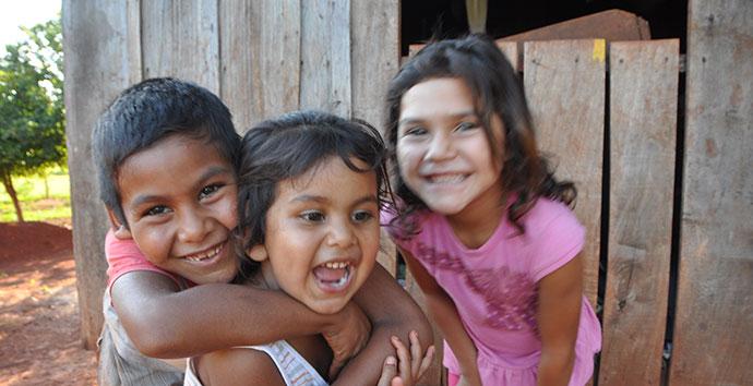 Niños del Centro Popular de Educación en Puerto Piray - Argentina © San Jose de Cuneo