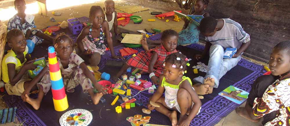 Early childhood in Mali