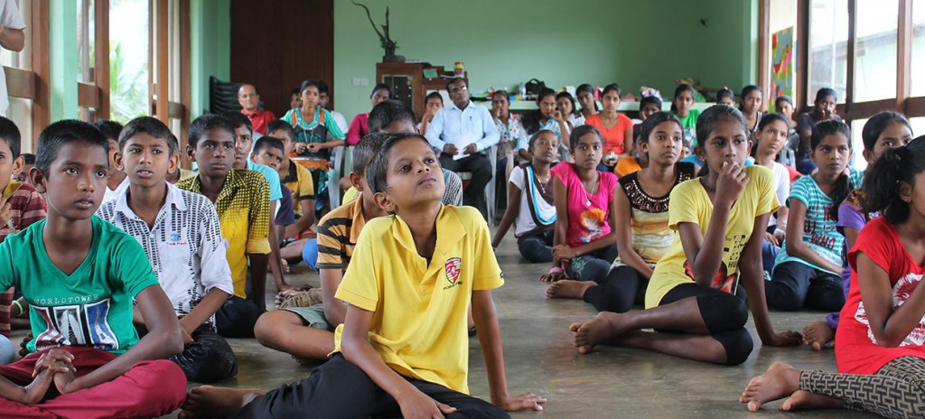 Sri Lanka: guaranteeing children's education on tea plantations