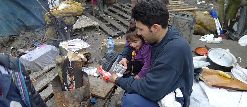 Situation des enfants migrants à Calais