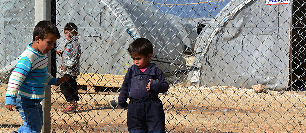 Syrian children victims of five years of conflict