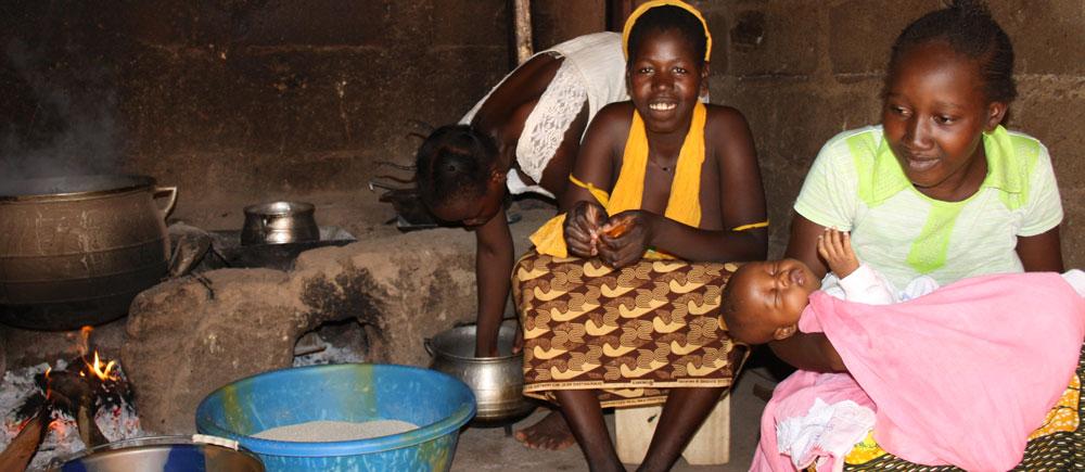 Un nuevo comienzo para las chicas en peligro en Mali