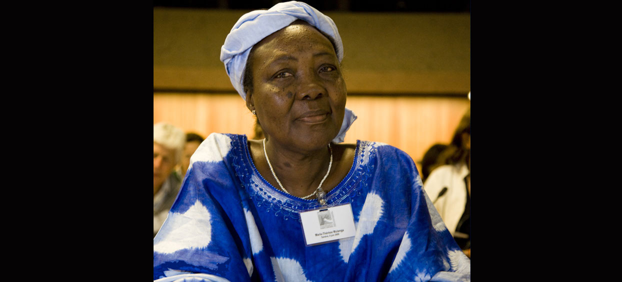 Hommage à Marie-Thérèse Mulanga