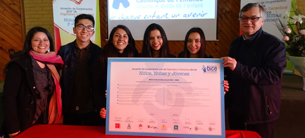 Mesa pro BICE Chili : Un réseau au service des droits de l'enfant