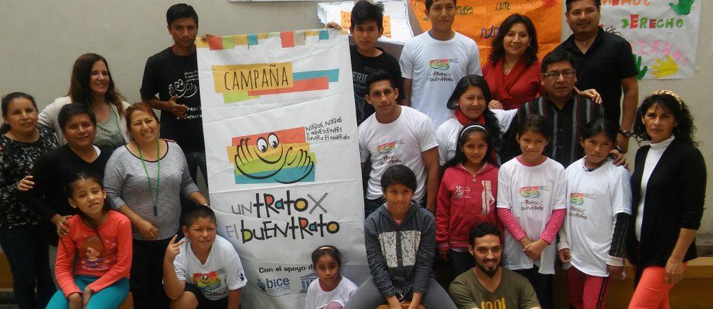 Succès de la campagne « Bientraitance » au Pérou