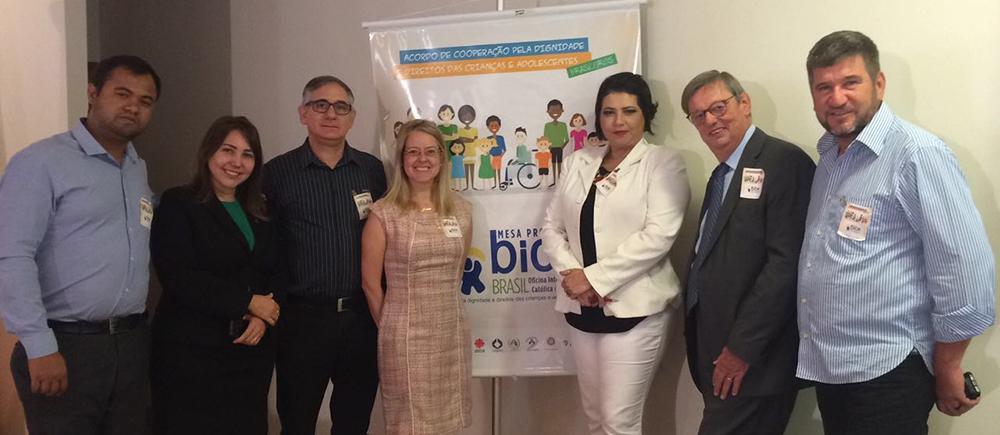 Brésil : le réseau BICE se consolide pour une meilleure protection des droits de l'enfant