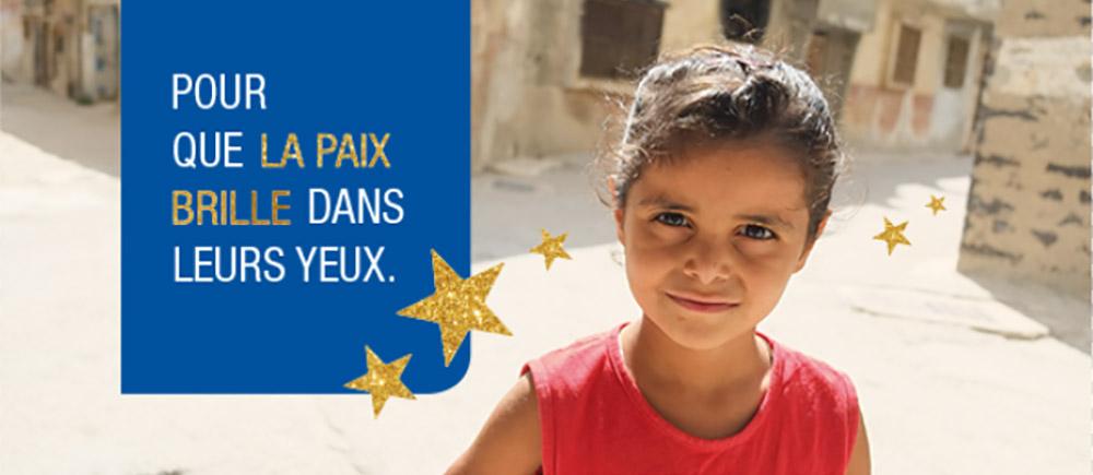 Journée mondiale de l'enfance : allumons une bougie pour la paix