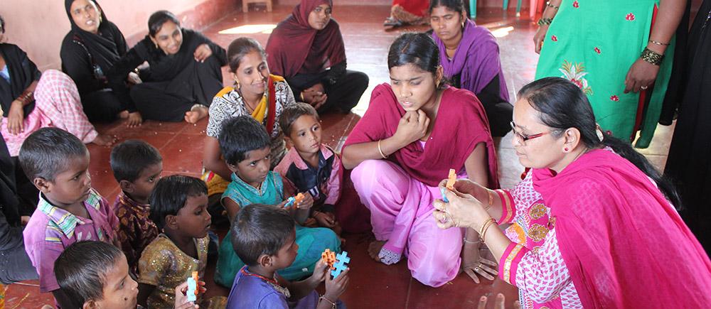 Des nouvelles du projet « Accueil petite enfance et formation d'assistantes maternelles » en Inde