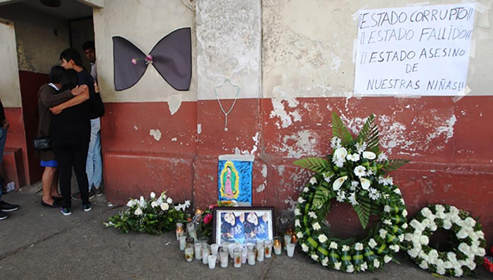 Masacre en un albergue de acogida en Guatemala
