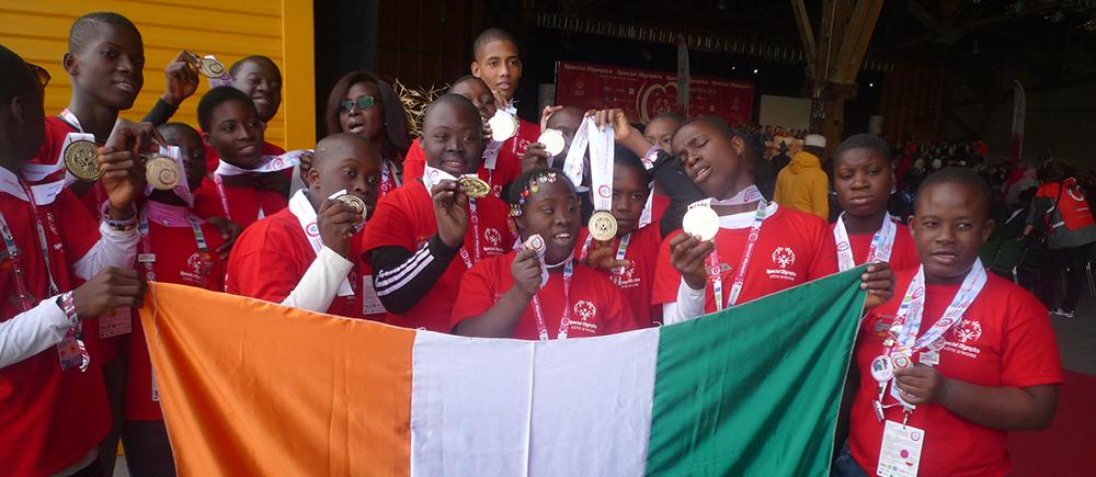 Special Olympics : une Médaille d'or pour les champions du CESEH