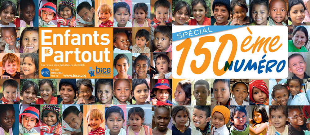 Le numéro 150 d'Enfants de Partout parait ce mois !
