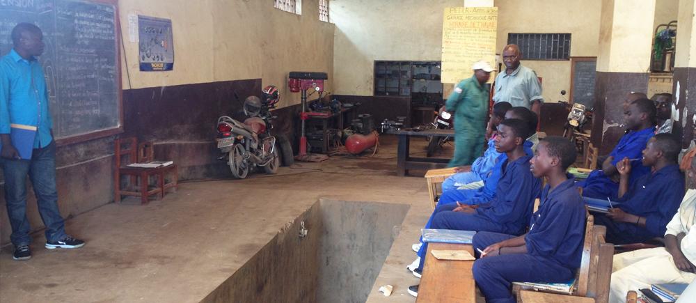 Réinsertion scolaire des enfants des rues en RD Congo
