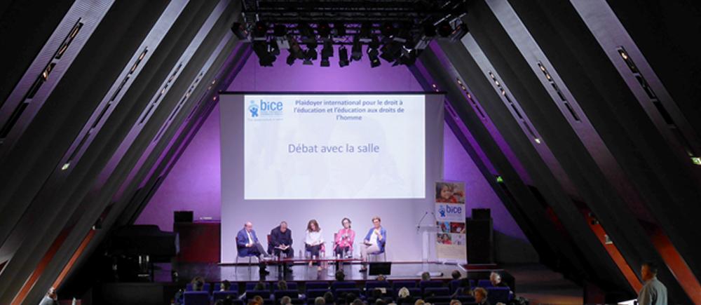 Congrès international du BICE 2017 : l'éducation, un droit pour tous