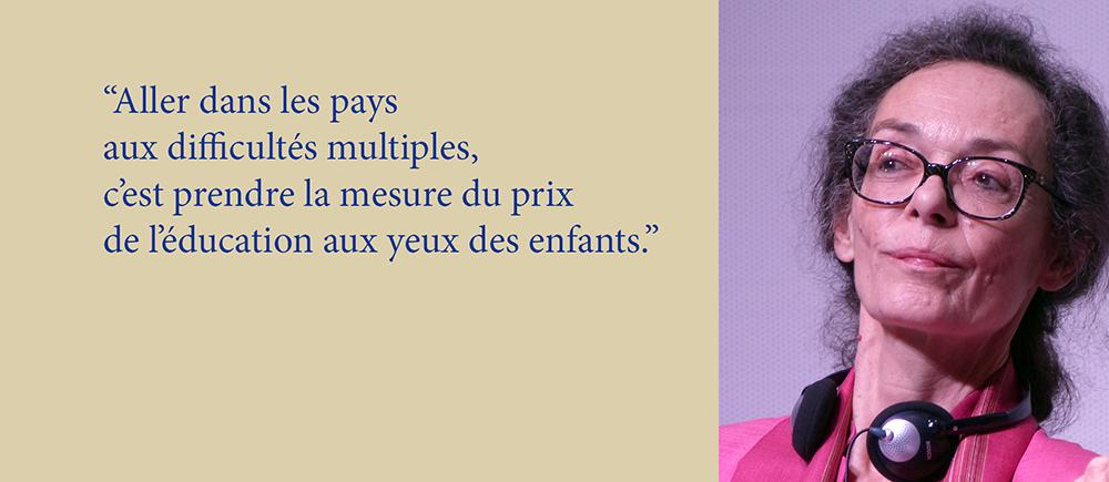 Chantal Paisant : une vie engagée pour l'Education pour tous