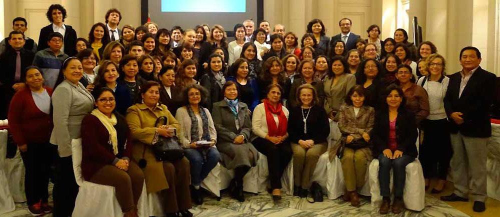 Les partenaires du BICE organisent un plaidoyer national au Pérou