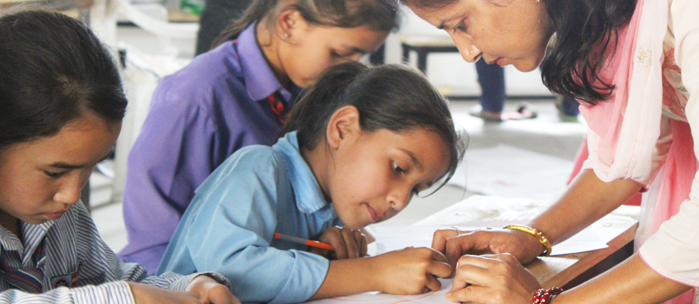 Tuteurs de résilience au Népal