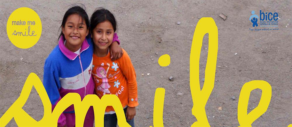 Journée mondiale de l'enfance 2017 : partageons nos sourires !