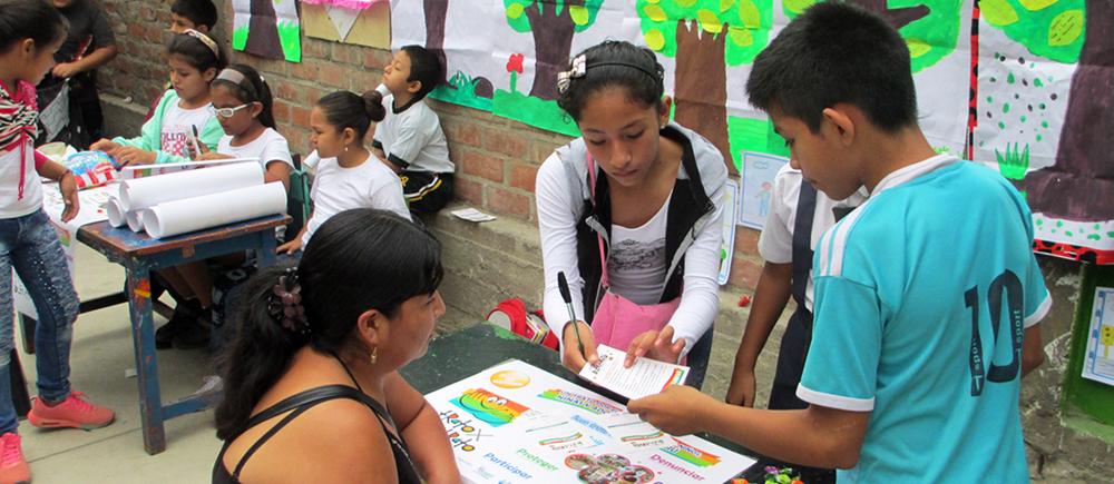 Bilan des campagnes de sensibilisation à la bientraitance au Pérou