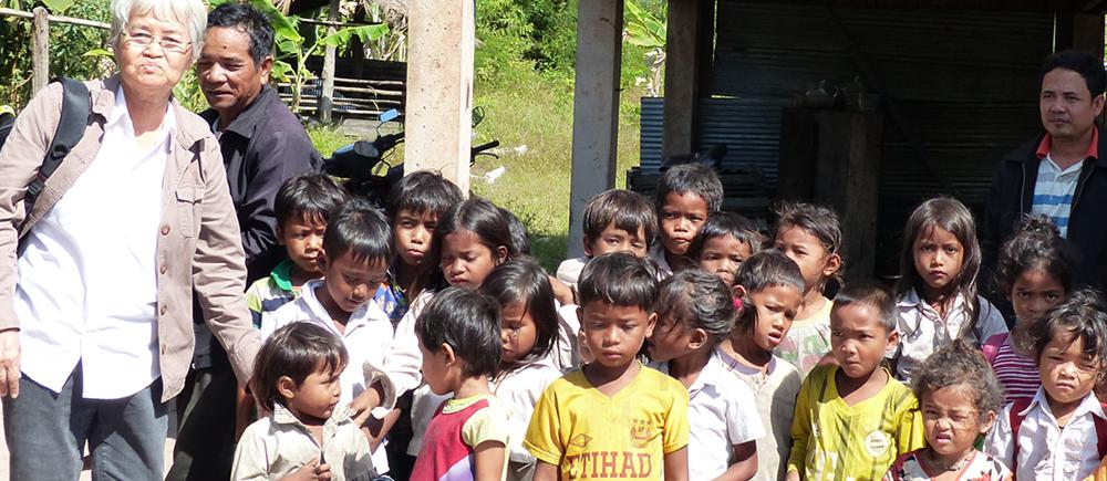 Davy Tith, une femme engagée auprès des enfants au Cambodge