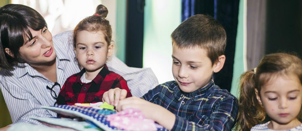 Comment accompagner les enfants victimes de violences en Géorgie