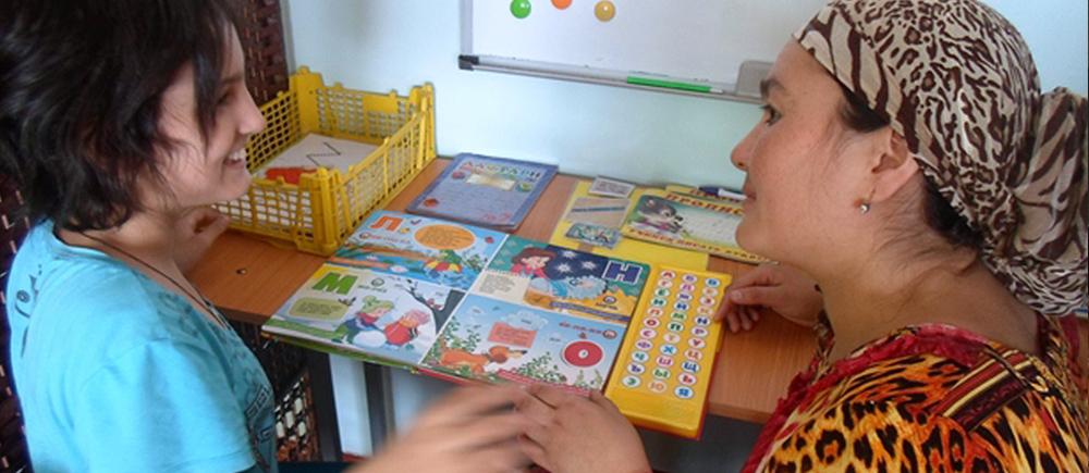 Le BICE auprès des enfants autistes au Tadjikistan