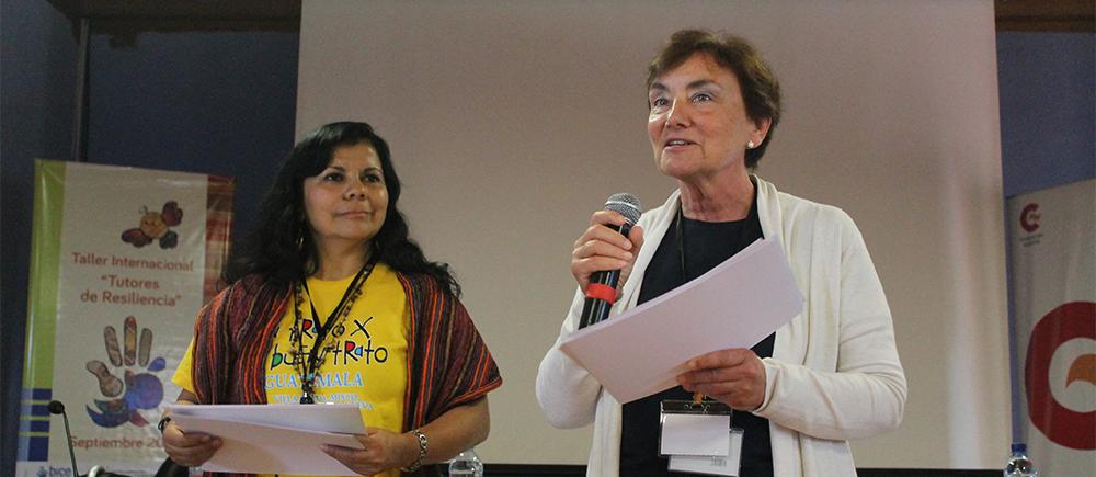 L'atelier sur la résilience au Guatemala.