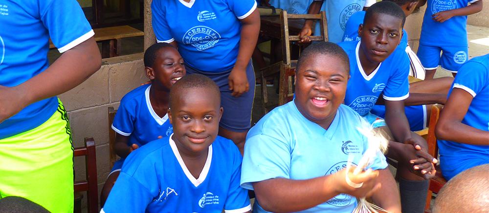 En Côte d'Ivoire, un centre pour accueillir les enfants en situation de handicap