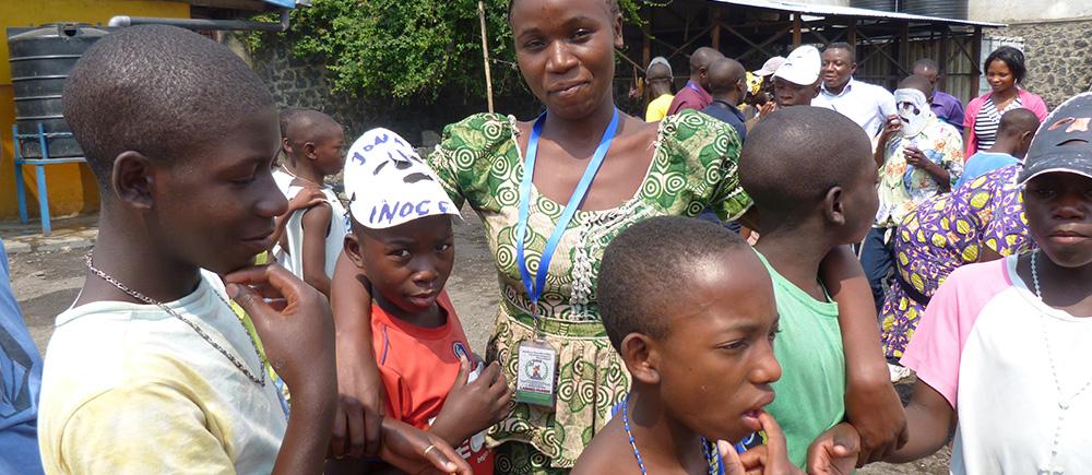 tuteurs de résilience auprès des enfants en RDC