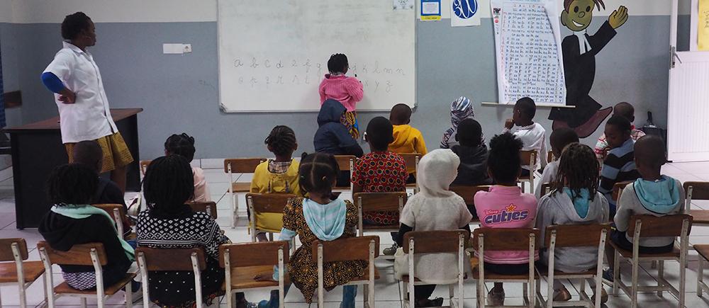 Formation tuteurs de résilience Mozambique
