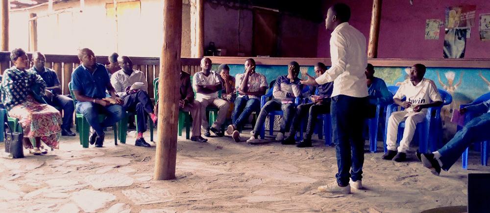 RDC - action de sensibilisation