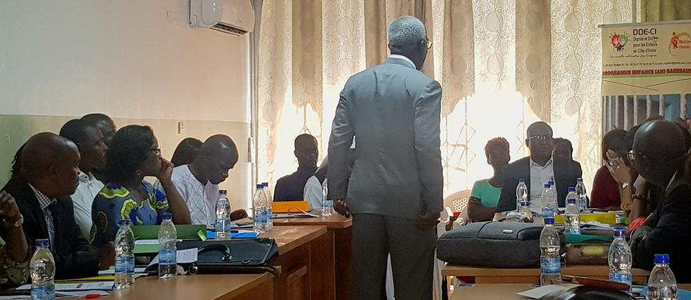 Côte d'Ivoire Formation justice juvénile