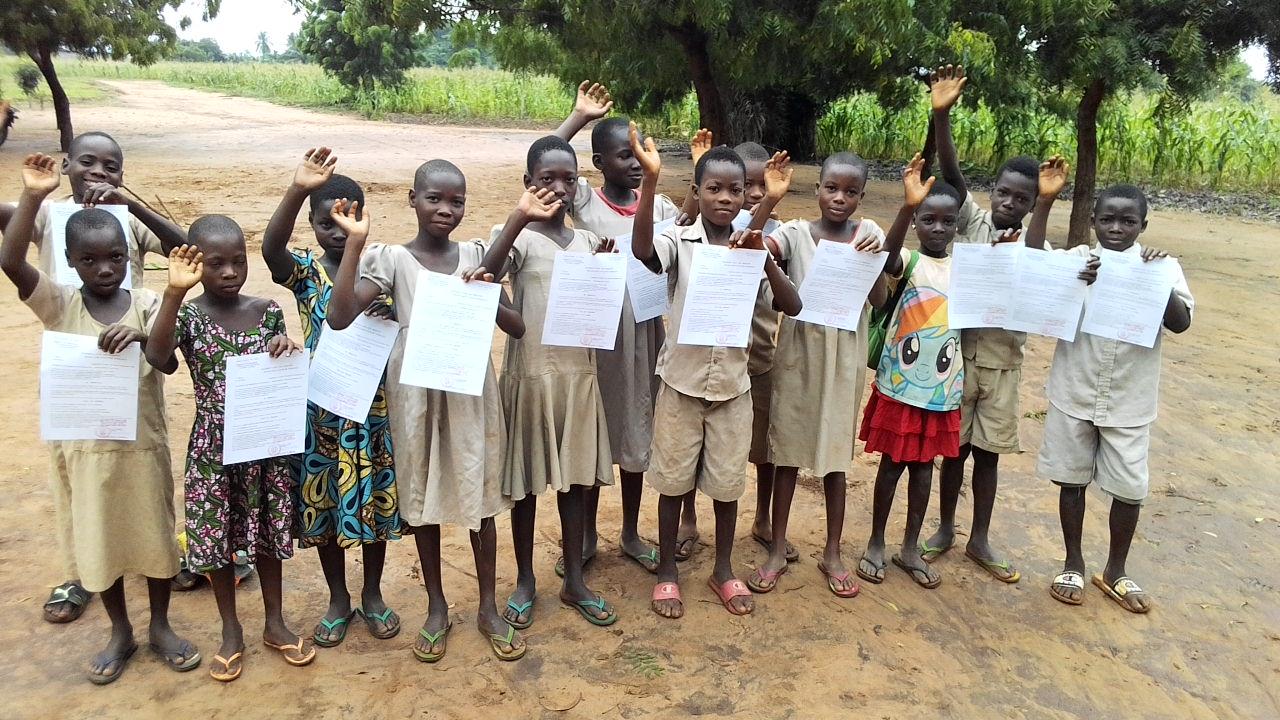 Togo enregistrement des naissances