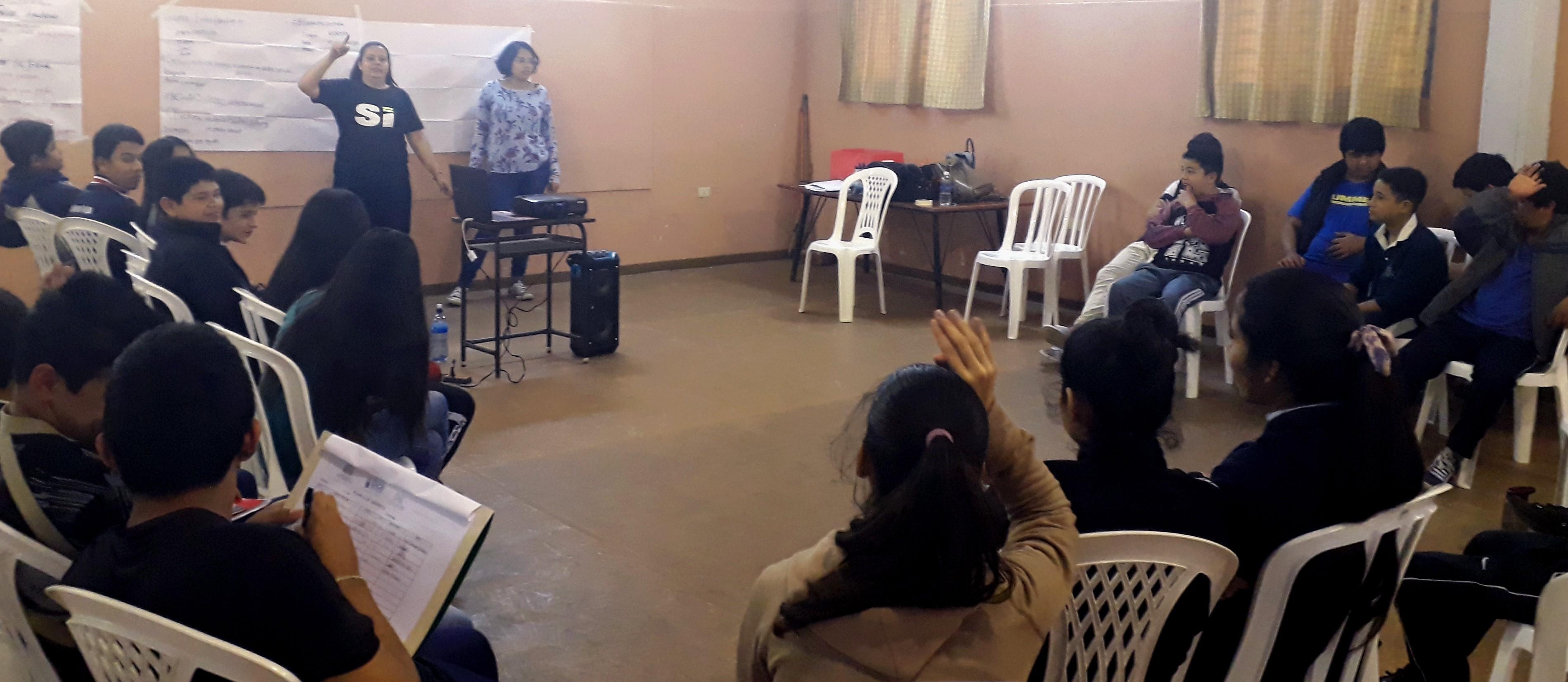 Formation de jeunes Paraguay