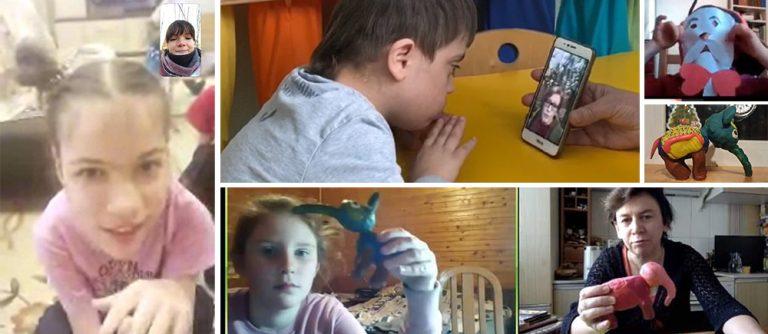 Covid-19 : Enfants en situation de handicap Russie