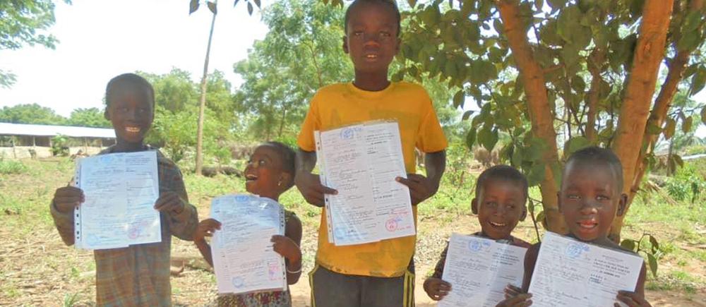 Enregistrement des naissances Togo