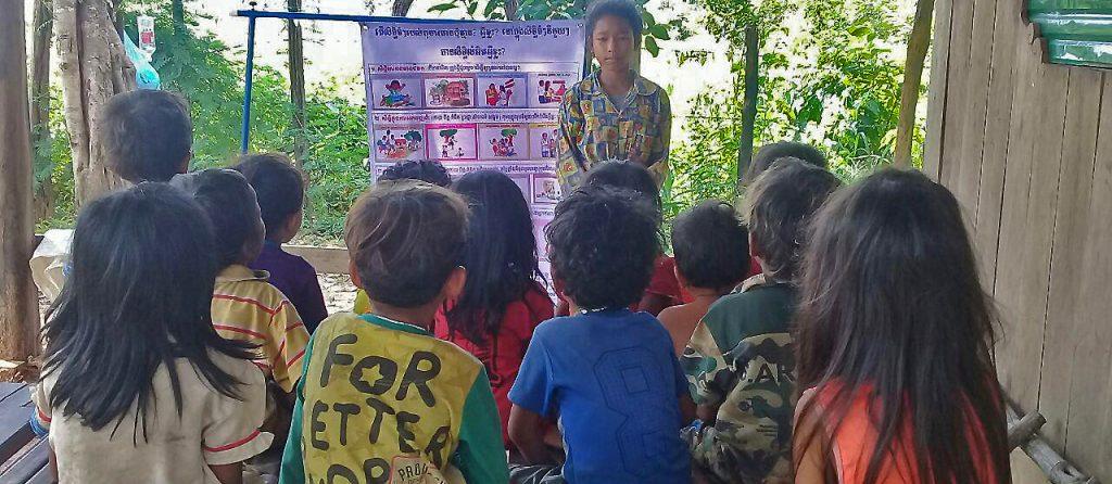 Ecoles sans murs au Cambodge
