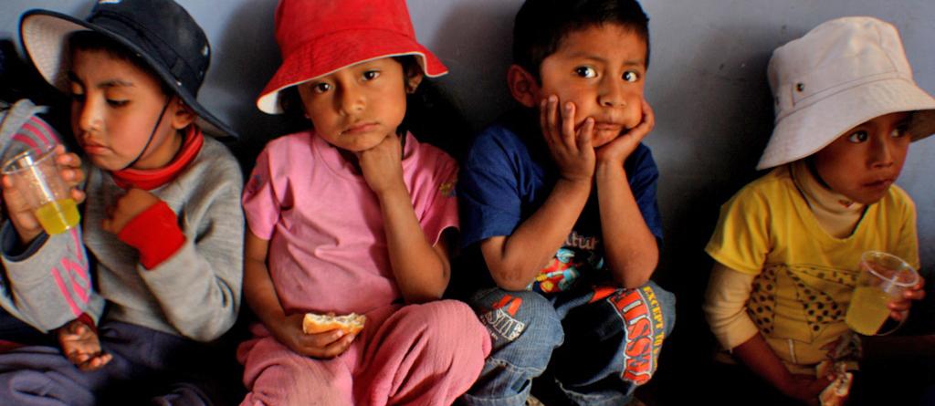 Pérou enfants