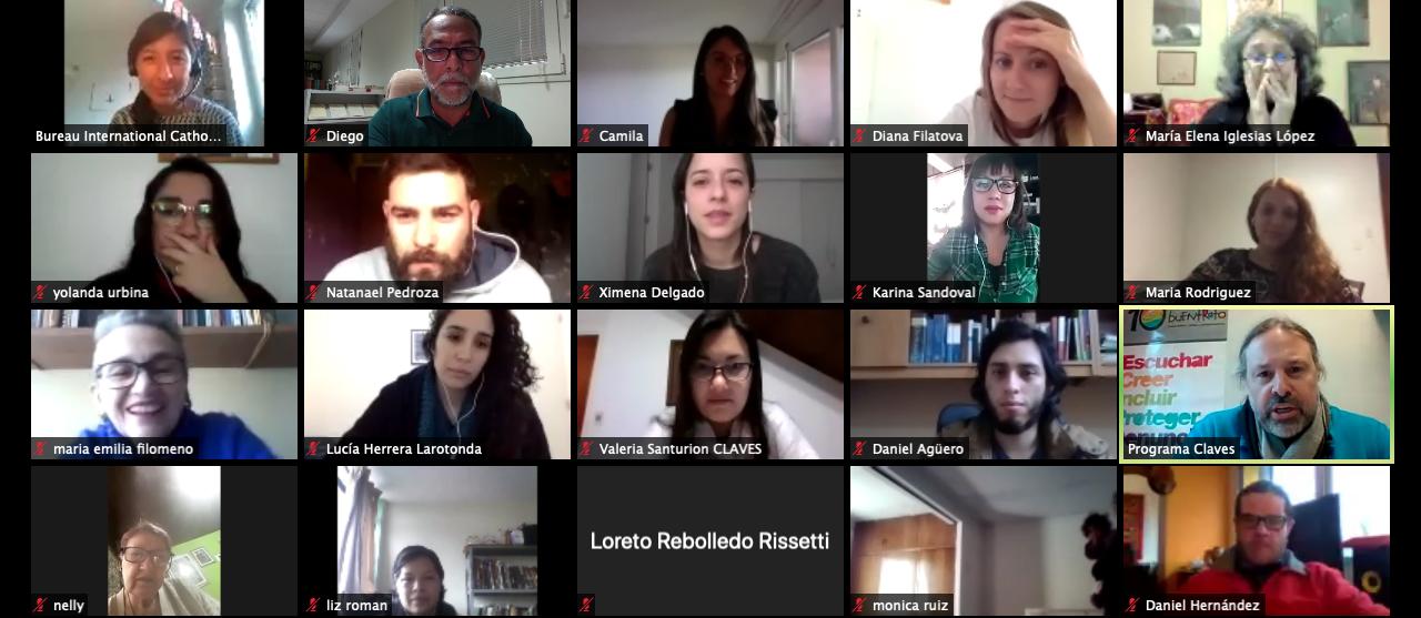 Résilience formation a distance Amérique latine