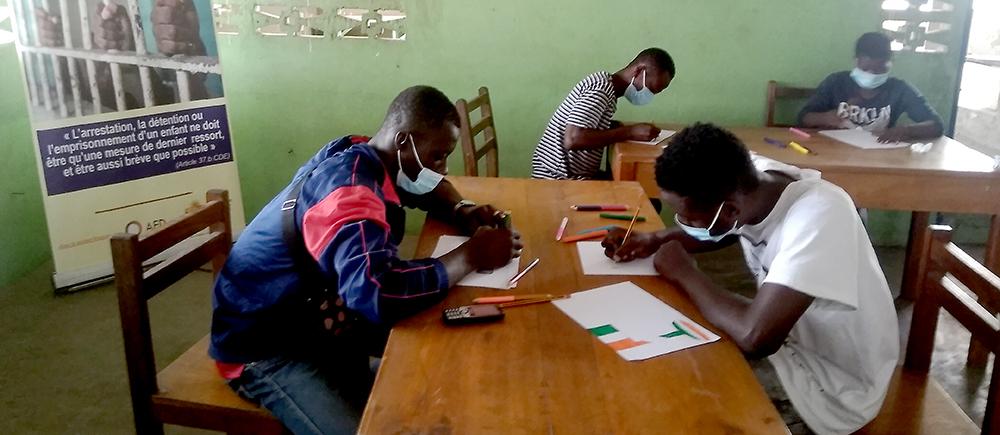 Enfants détenus Côte d'Ivoire