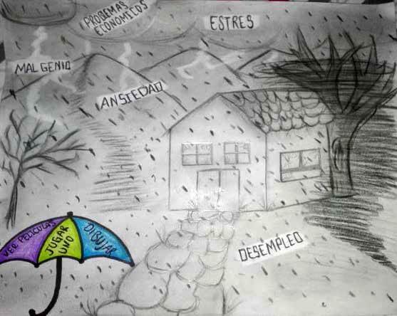 atelier sous l'orage