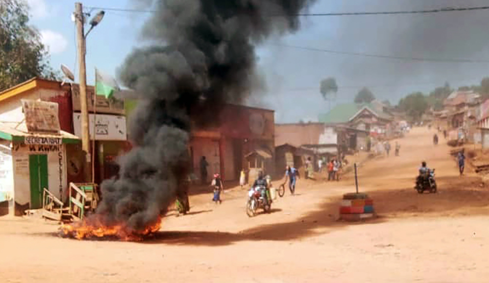 Goma affrontements